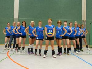 Volleyballteam Damen 2015