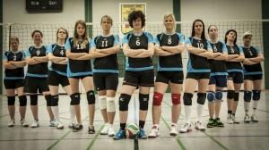 Fotoshooting Volleyball Damen